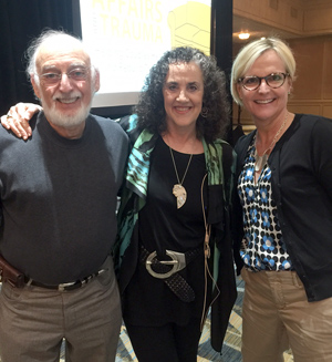 Susan Wade, LCSW with Drs. John and Julie Gottman